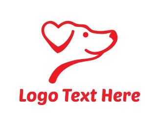 Veterinarian - Lovely Dog logo design
