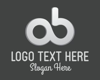 Round A & B Logo