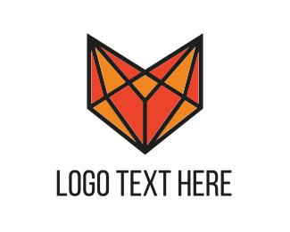 Clever - Fox Diamond logo design