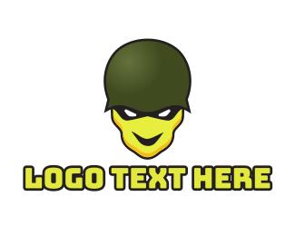 Esports - Skull Soldier logo design