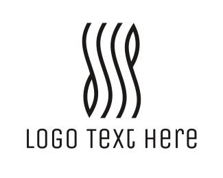 Lines - Stylish Wave Lines logo design
