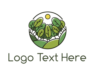 Green Trees Logo Maker