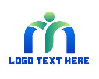 Fresh - Fresh Healthy M logo design