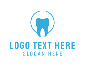 Orthodontic - Blue Tooth logo design
