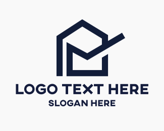 Postal - Home Mail logo design