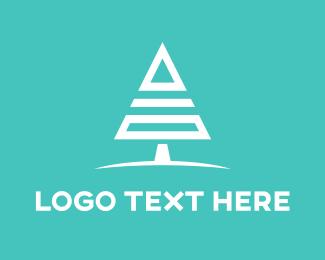 General - Geometric Tree logo design