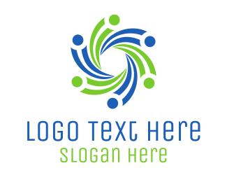 Crowd - Support Group logo design