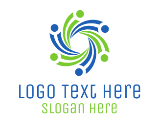 Crowd - Support Group logo design