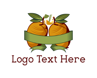 Mango - Yellow Mangoes logo design