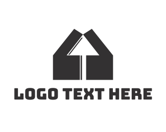Click - House Click logo design
