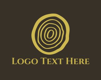 Carpentry - Log Cut logo design