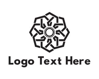 Flower - Shutter Flower logo design