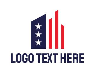 American - American Statistics logo design