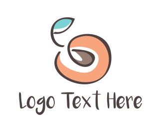 Peach - Peach Seed logo design