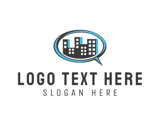 Message - City Message logo design