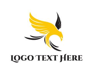 Crest - Yellow Eagle logo design