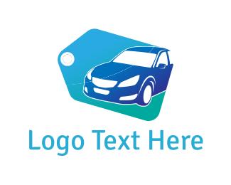 """Blue Car Tag"" by user1515742850"