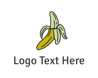Green And Yellow - Yellow Banana logo design