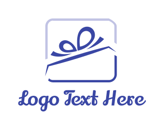 Celebration - Ribbon Gift logo design