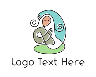 Yoga -  Yoga Mom logo design