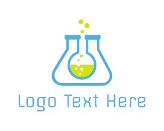 Scientific - Lab Tubes logo design