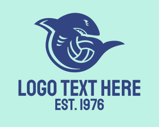 Soccer - Sport Shark Ball logo design
