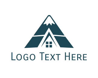 Realty - Hill Cabin logo design