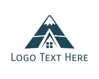 Hotel - Hill Cabin logo design