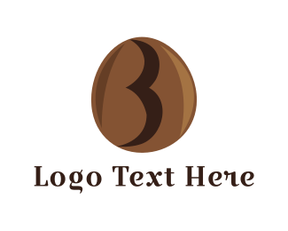 Seed - Coffee Letter B logo design