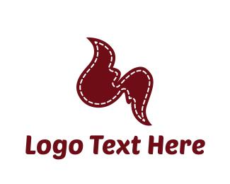 Sewing - Fashion Wings logo design