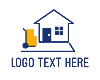 Postal - Moving Company logo design