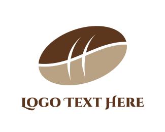 Latte - Bean & Bread logo design