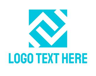 Square - C & C logo design