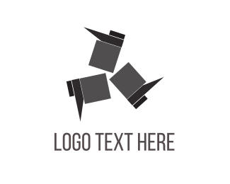 Walk - Black Footwear logo design