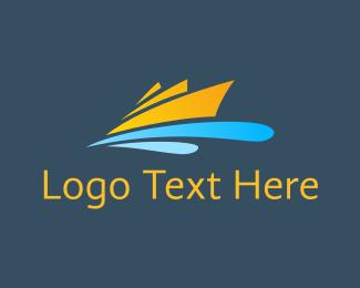 Transportation - Orange Cruise logo design