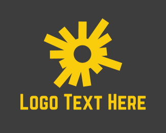 Sunshine - Yellow Sun logo design