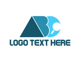 Find - Alphabet ABC Search logo design