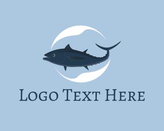 Tuna - Mackerel Fish logo design