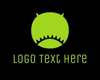 Baseball Team - Round Ogre logo design