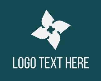 Blade - Blade Flower logo design