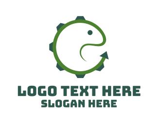Metal - Lizard Gear logo design