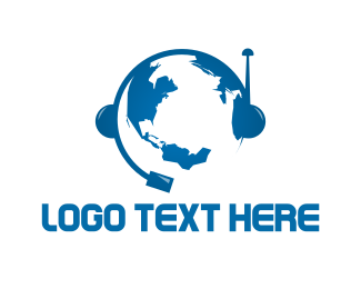 Global - Global Communication logo design