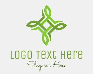 Organic - United Leaves logo design