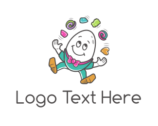 Juggler Egg Logo