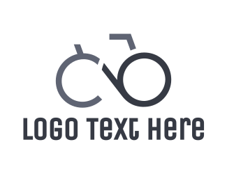 Cycle - Spectacles Bicycle logo design