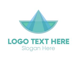 Sailboat - Blue Boat logo design
