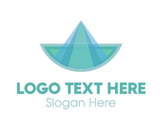 Sailing - Blue Boat logo design