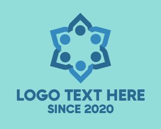 Organization - Colorful Flower logo design