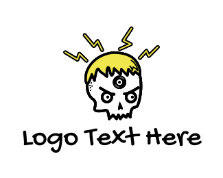 Skull - Musical Skull logo design