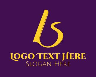 Text - B & S logo design